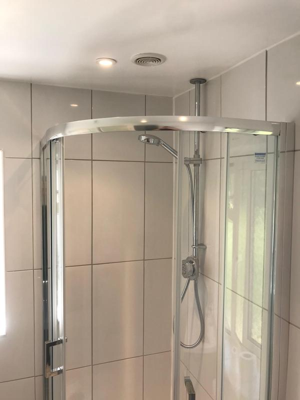 Image 1 - New bathroom spotlights and power for towel rail installed