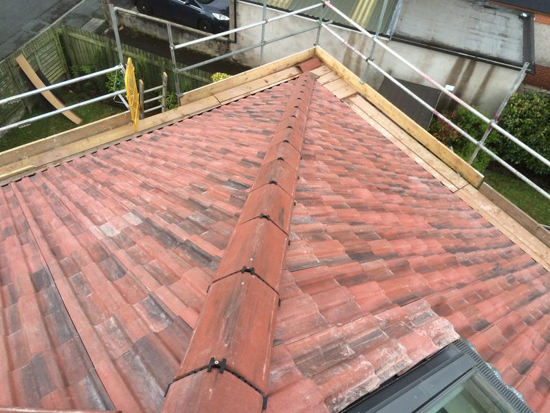 Image 36 - Ridges mechanically fixed on Clitheroe