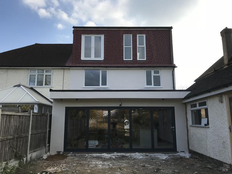 Image 47 - Rear Dormer Loft COnversion & Kitchen Extension in Bexley