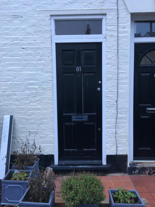 Image 3 - old door before our installation, Wimbledon