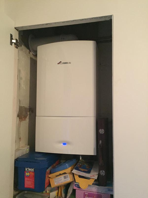 Image 6 - Worcester combi installed along with magnetic filter.  A repipe of the heating system was also completed.