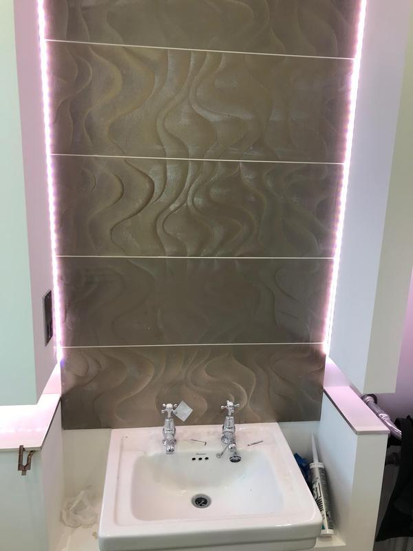 Image 17 - RGB strip lighting installed