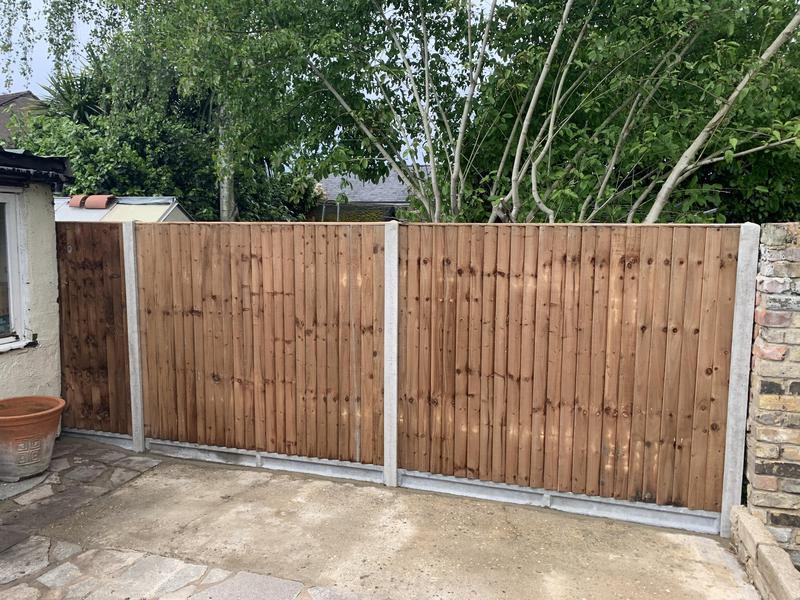 Image 5 - New fence