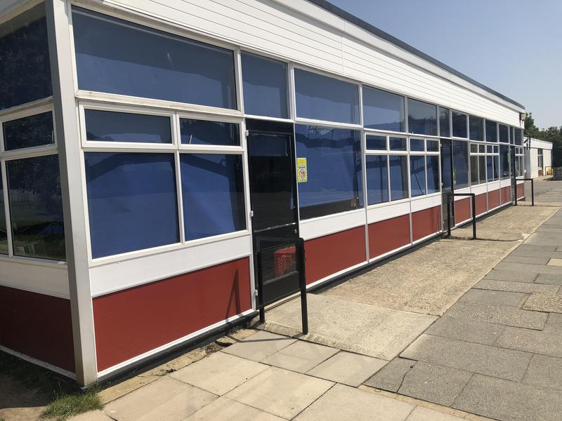 Image 3 - Asbestos Window Panels to School