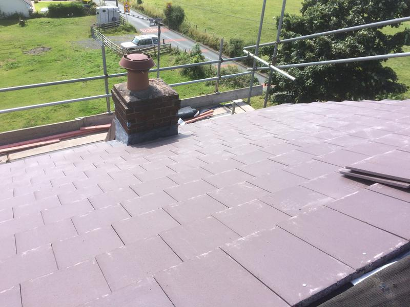 Image 41 - Roof being tiled Pleasington