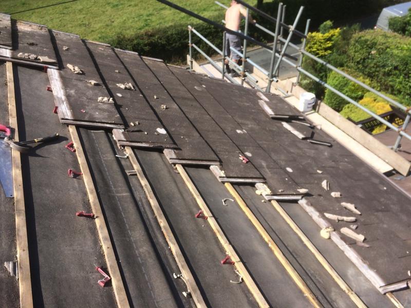 Image 39 - Re-roof strip Pleasington Blackburn
