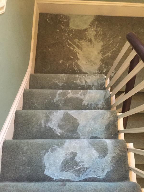 Image 22 - Paint on Stairs Before