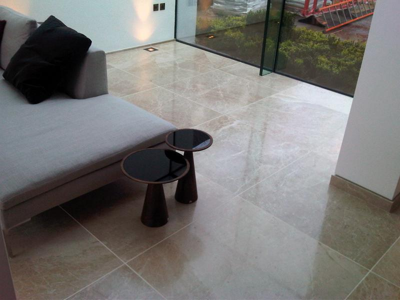 Image 17 - Polished marble flooring