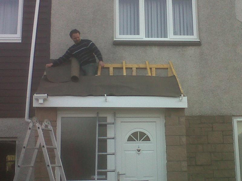 Image 11 - here were putting a new roof on the porch
