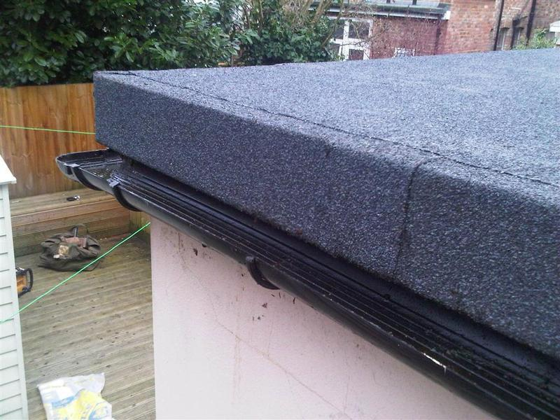 Image 17 - Flat roof gutter detail