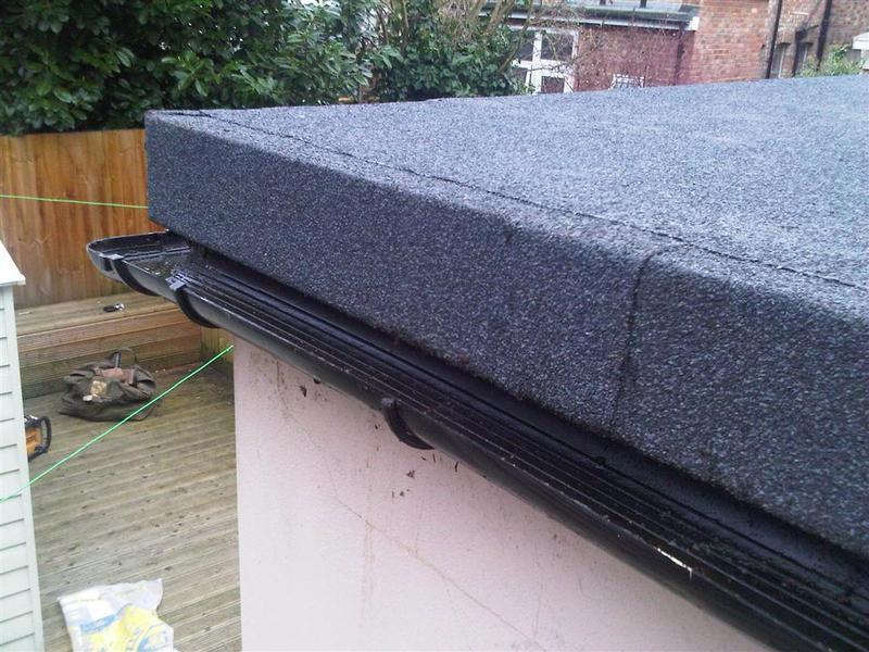 Image 15 - Flat roof gutter detail