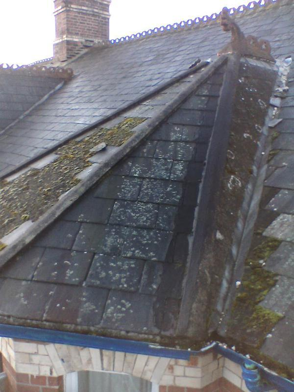 Image 1 - Shows existing roof needing repair