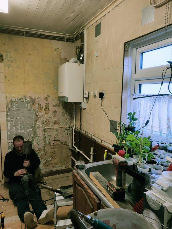 Image 6 - Toilet to be made in unused part of kitchen