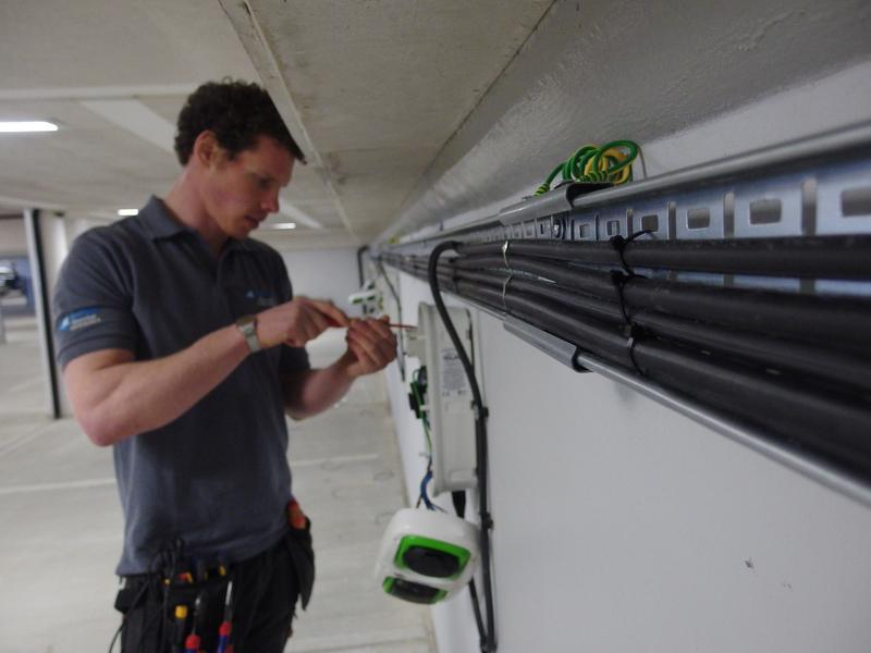 Image 3 - Mayday Electrical Solutions - installing a car charging system
