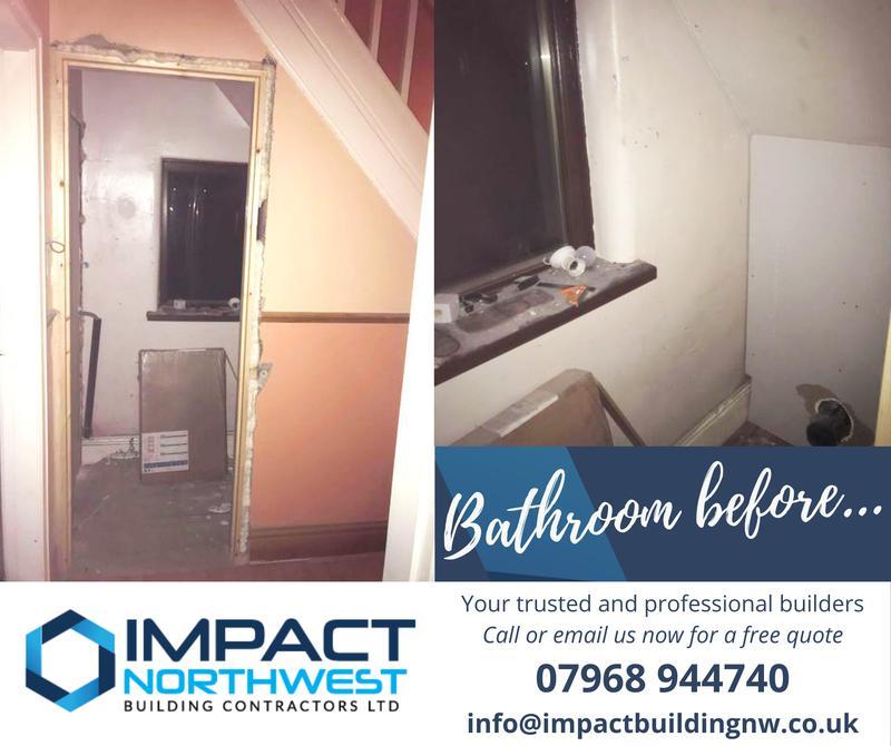 Image 4 - Under the stairs bathroom refurb - Salford - 2021 (before)