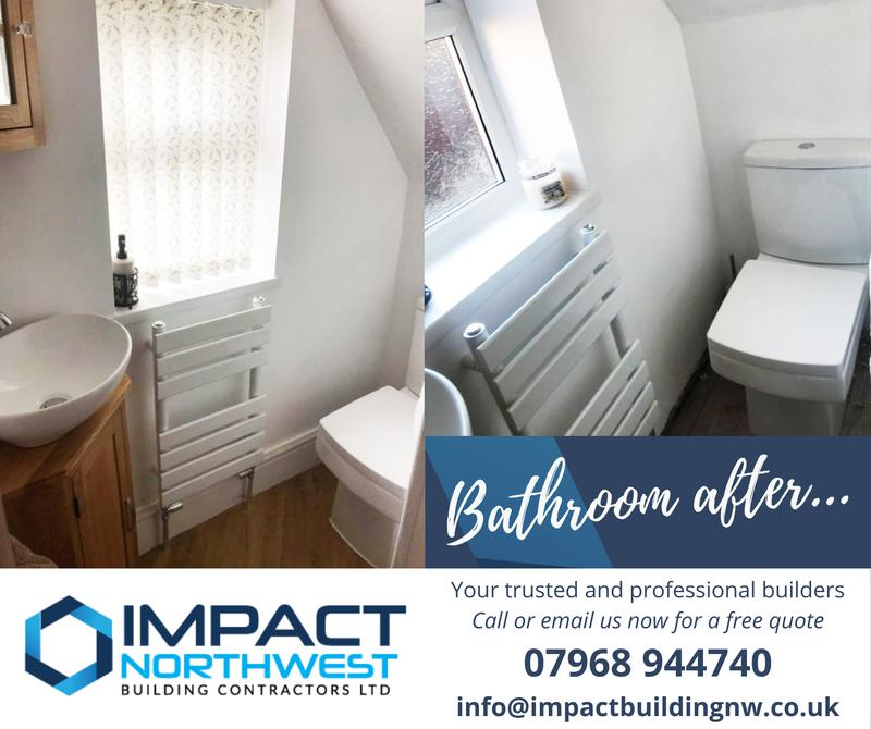 Image 3 - Under the stairs bathroom refurb - Salford - 2021 (after)