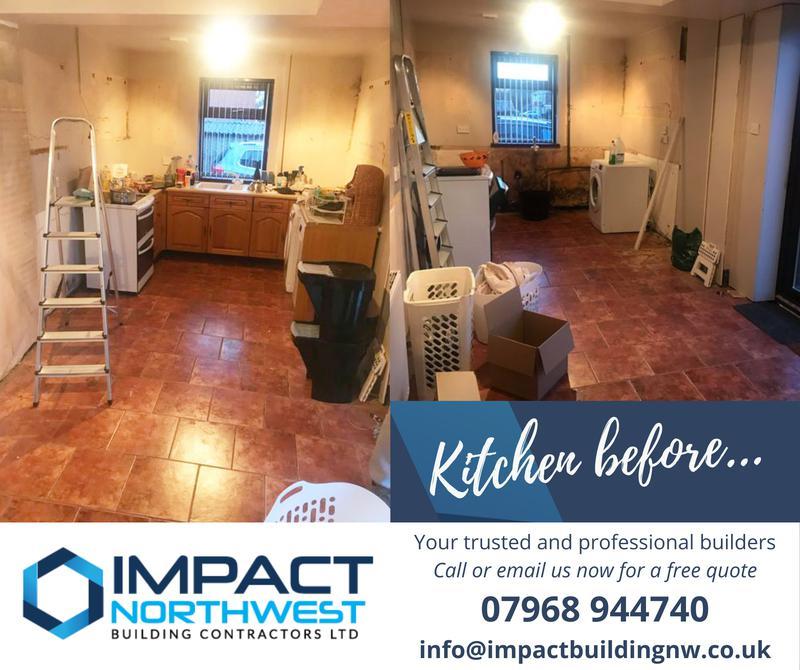 Image 2 - Kitchen refurb - Salford - 2021 (before)