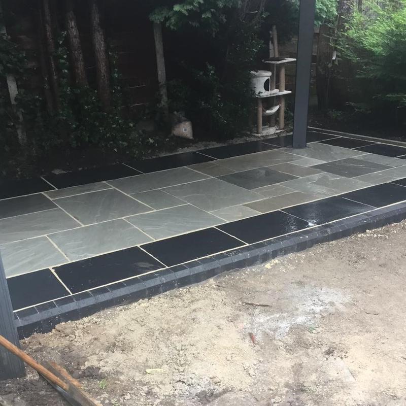 Image 5 - Garden patio project - 2020