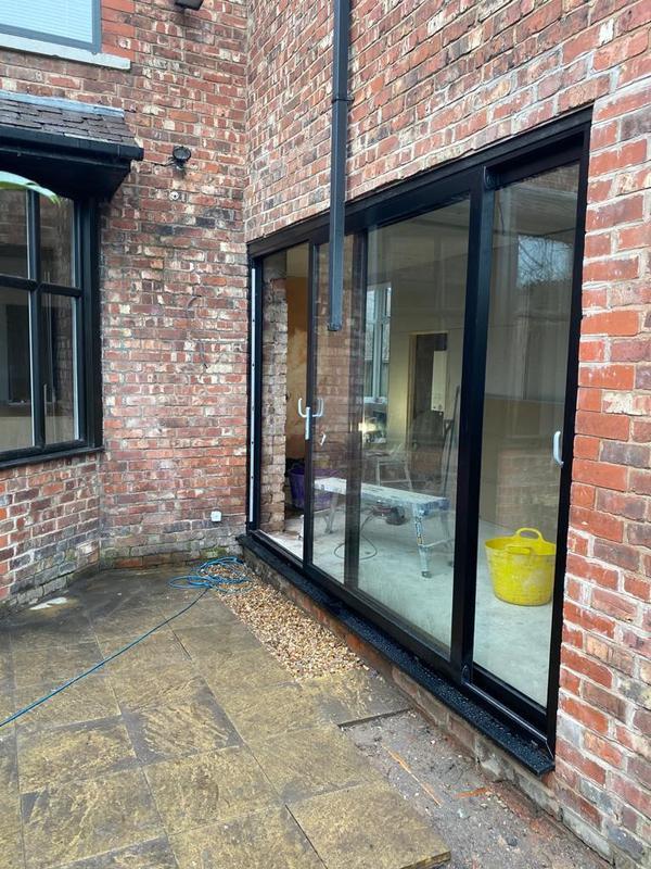 Image 14 - Prestwich - Kitchen and utility room refurb - slider doors installation 2021