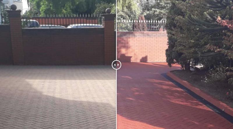 Image 6 - Before and After Driveway cleaning