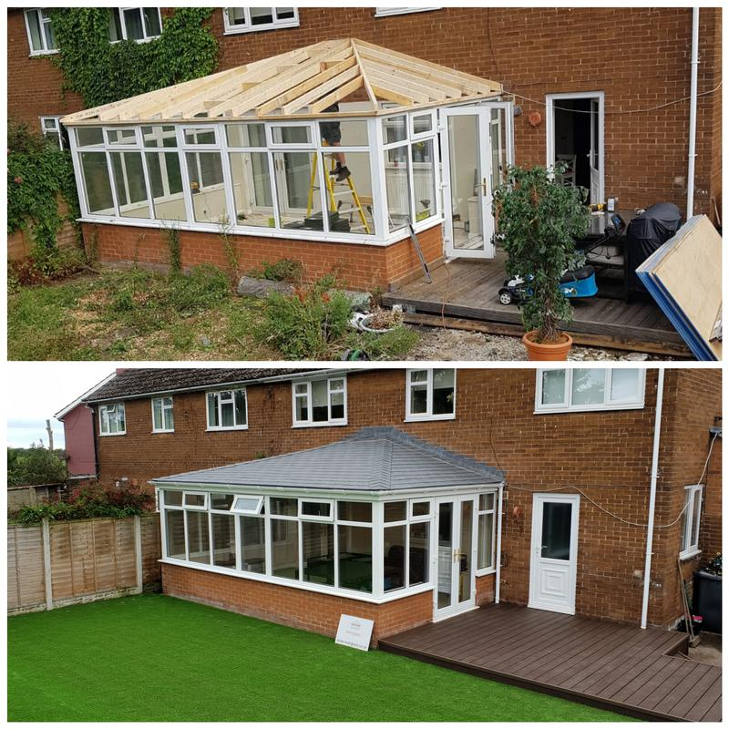 Image 5 - Another beautiful conservatory roof conversion by Everglaze!