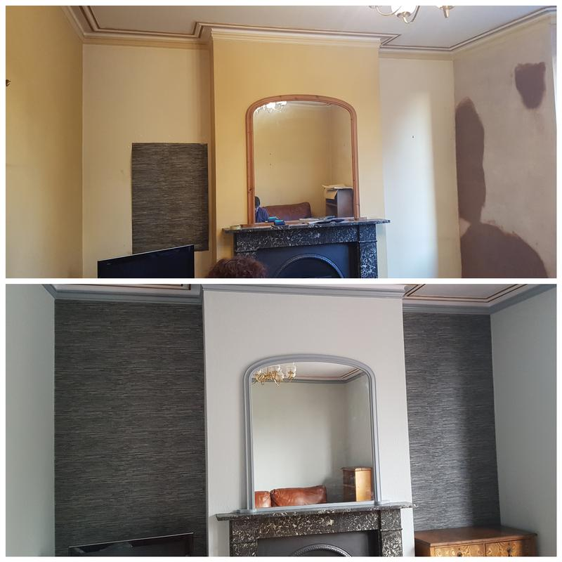 Image 7 - Before and after picture of a lounge