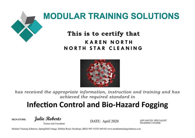 Image 2 - Certified in Infection Bio Hazard Fogging
