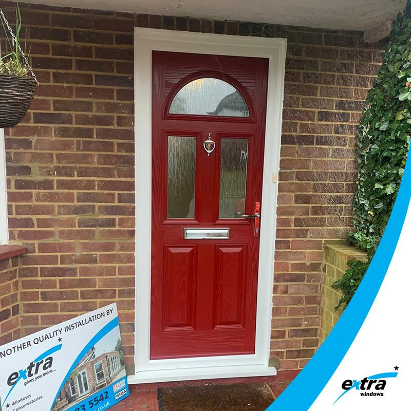 Image 6 - Red Composite Doors