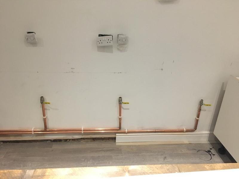 Image 8 - First fix gas installation for a local burger house, complete with gas interlock system