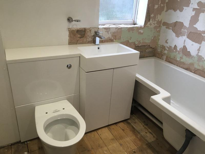 Image 15 - works carried out in watford for the rip out and installation of new bathroom