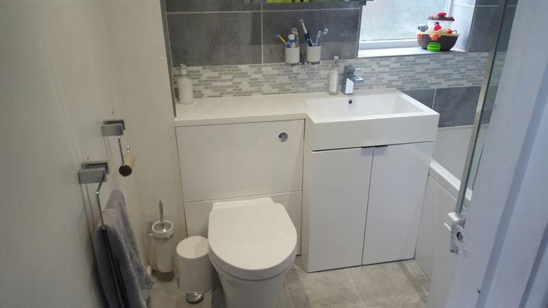 Image 18 - works carried out in watford for the rip out and installation of new bathroom
