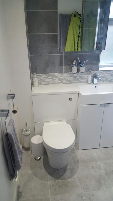 Image 19 - works carried out in watford for the rip out and installation of new bathroom