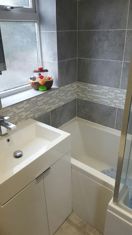 Image 16 - works carried out in watford for the rip out and installation of new bathroom