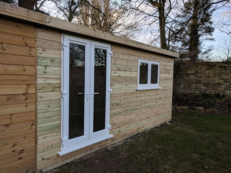 Image 169 - Fully insulated garden office, West Camel