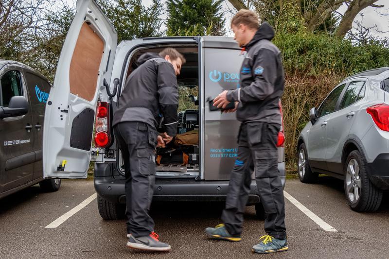 Image 12 - iI/O Power branded vans Stockport electrician