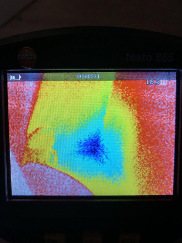 Image 8 - Thermal Imaging for those leaks that are hard to find