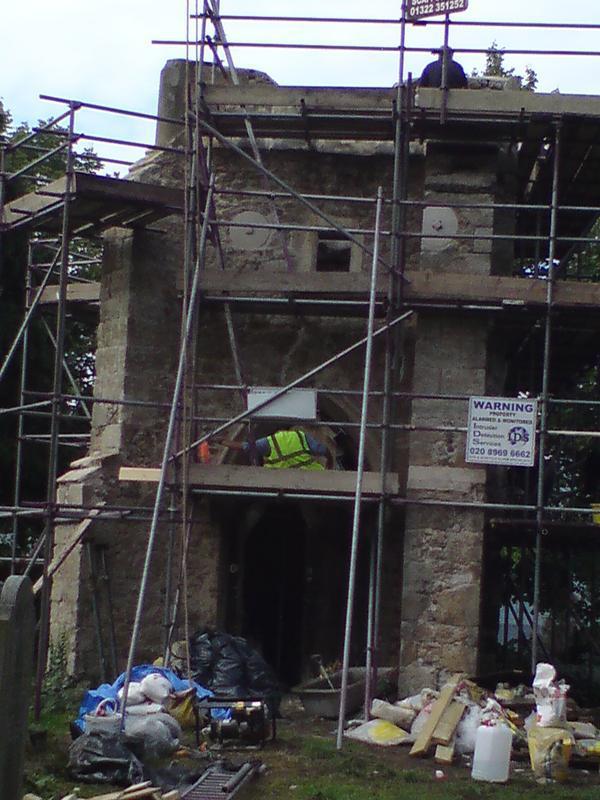 Image 6 - Restoration work lewisham church built in 1010