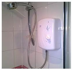 Image 18 - New electric shower fitted.