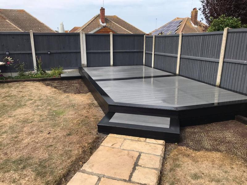 Image 11 - Composite decking install