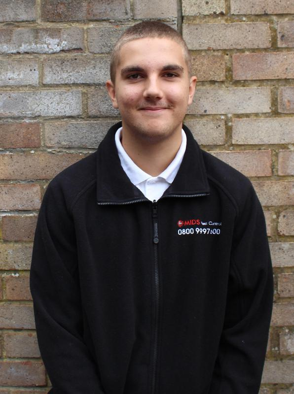 Image 11 - Jake, Trainee Pest Control Officer