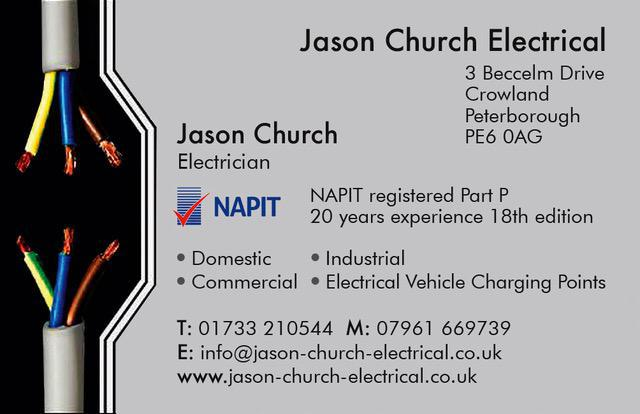 Jason Church Electrical logo