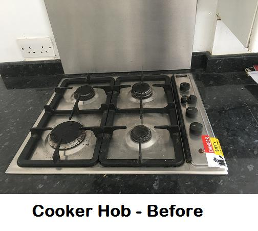 Image 8 - Cooker hob before new installation