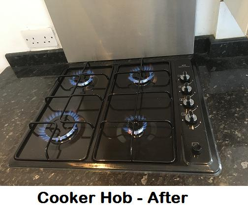 Image 34 - New cooker hob installation