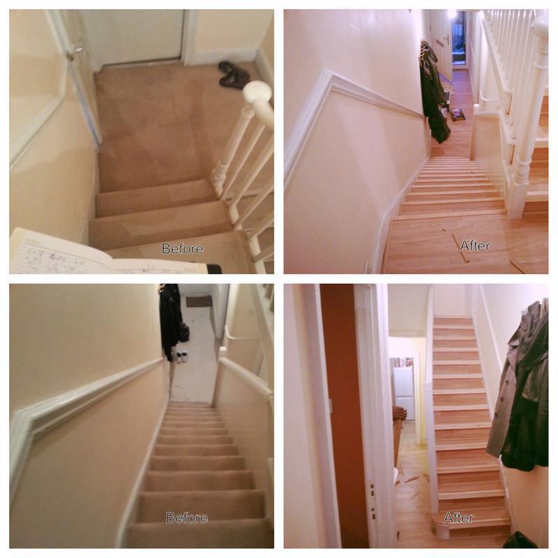 Image 19 - laminate floor on stairs