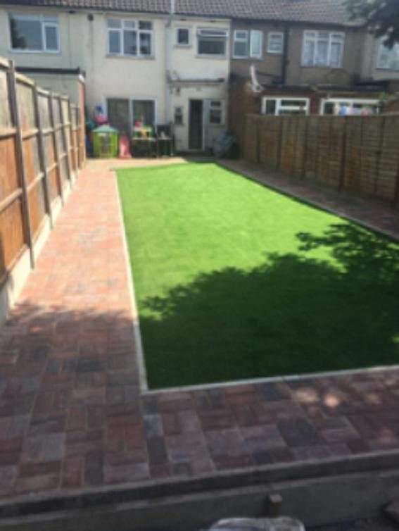 Image 11 - New fake grass project