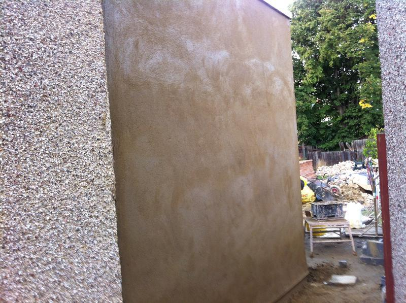 Image 32 - Allyway wall external sand cement render