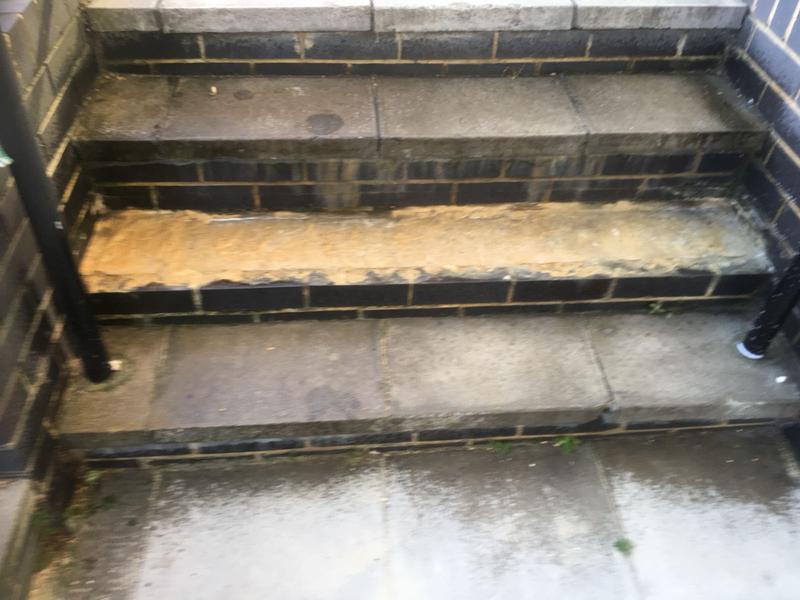 Image 12 - Repair to steps