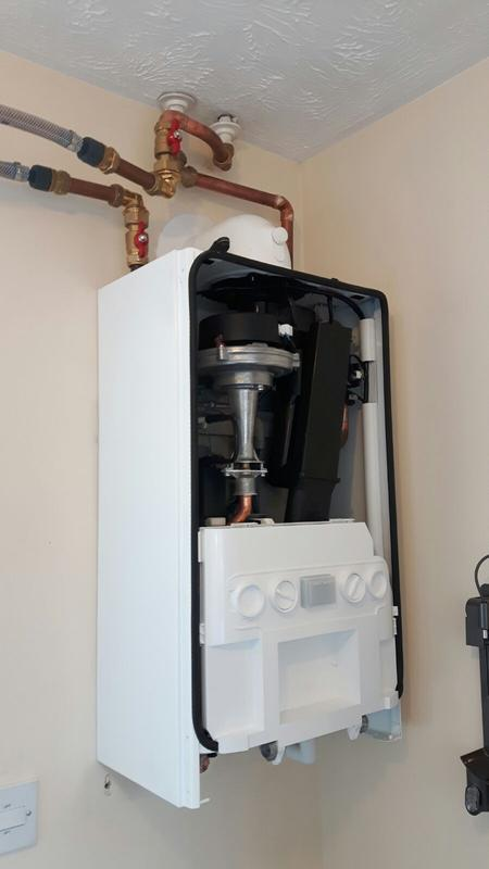 Image 8 - installed ideal logic plus system boiler