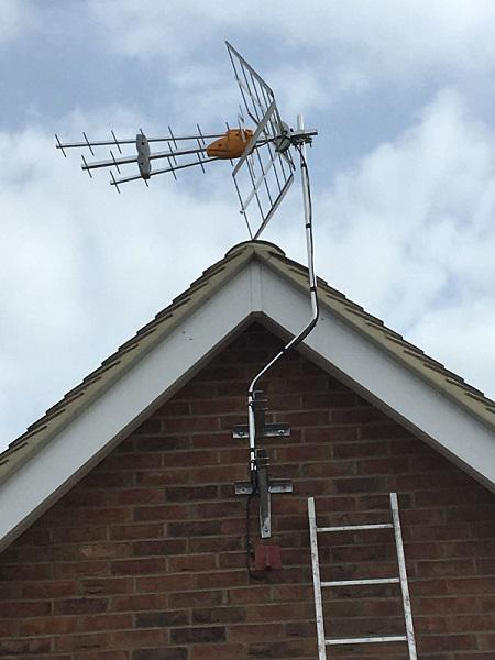 Image 1 - DIGITAL AERIAL INSTALL ON GABLE END