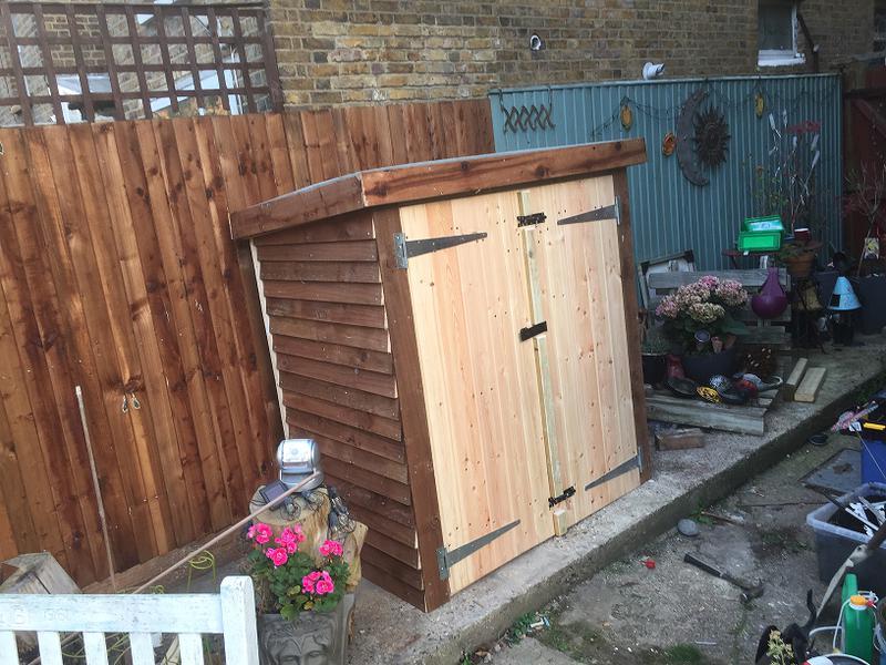 Image 22 - Bespoke shed construction complete.